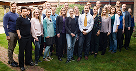 Members and staff Photo: Erik Thor/Young Academy of Sweden