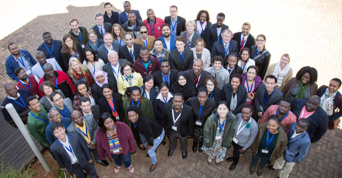Group portrait World Wide Meeting of Young Academies 2017