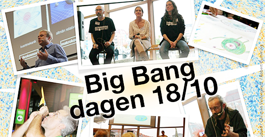 Big bangdagen kollage